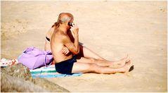 Moments on beach