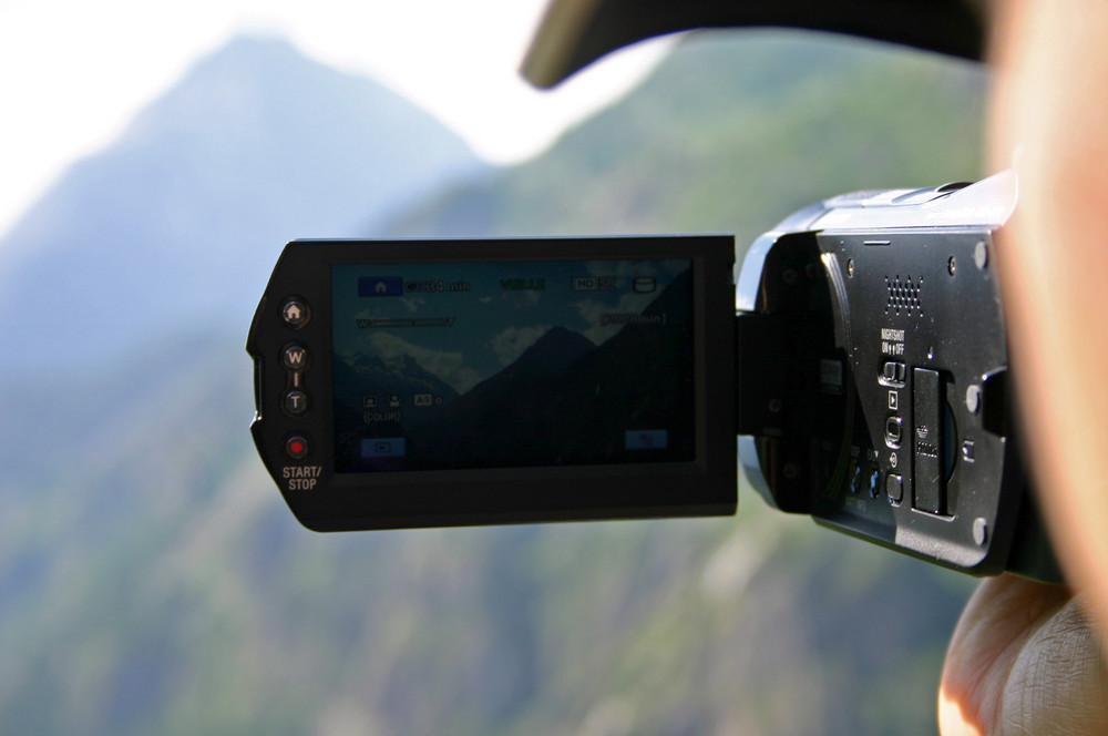Mon Camescope!