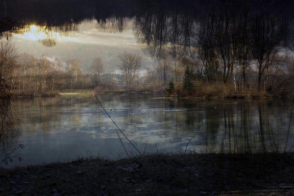 Mon lac dans............