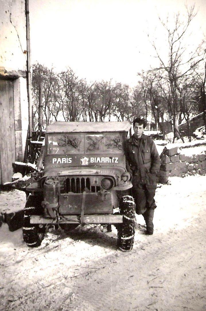 Mon père en janvier 1945