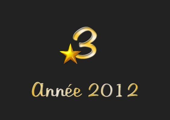 Mon top 3 2012 !
