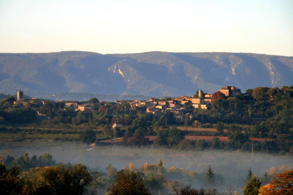 mon village ce matin