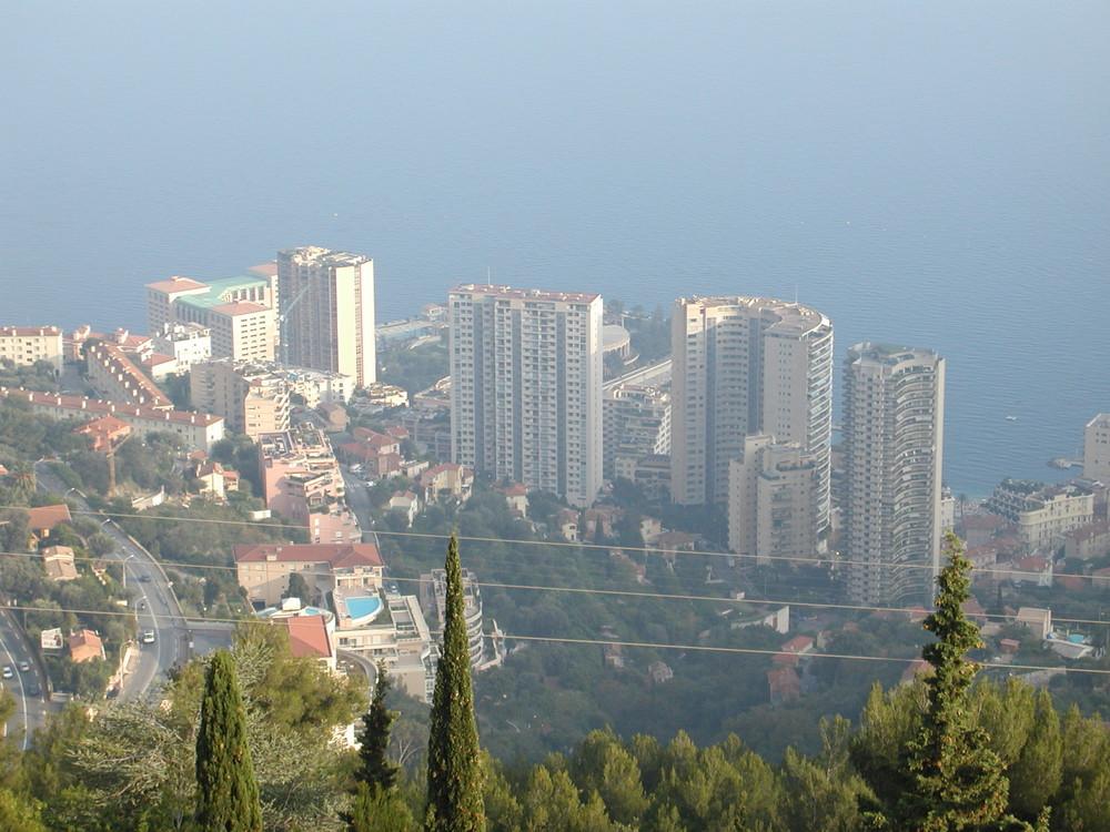 Monaco aus der Ferne