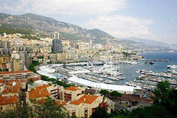 Monaco - Blick auf Monte Carlo