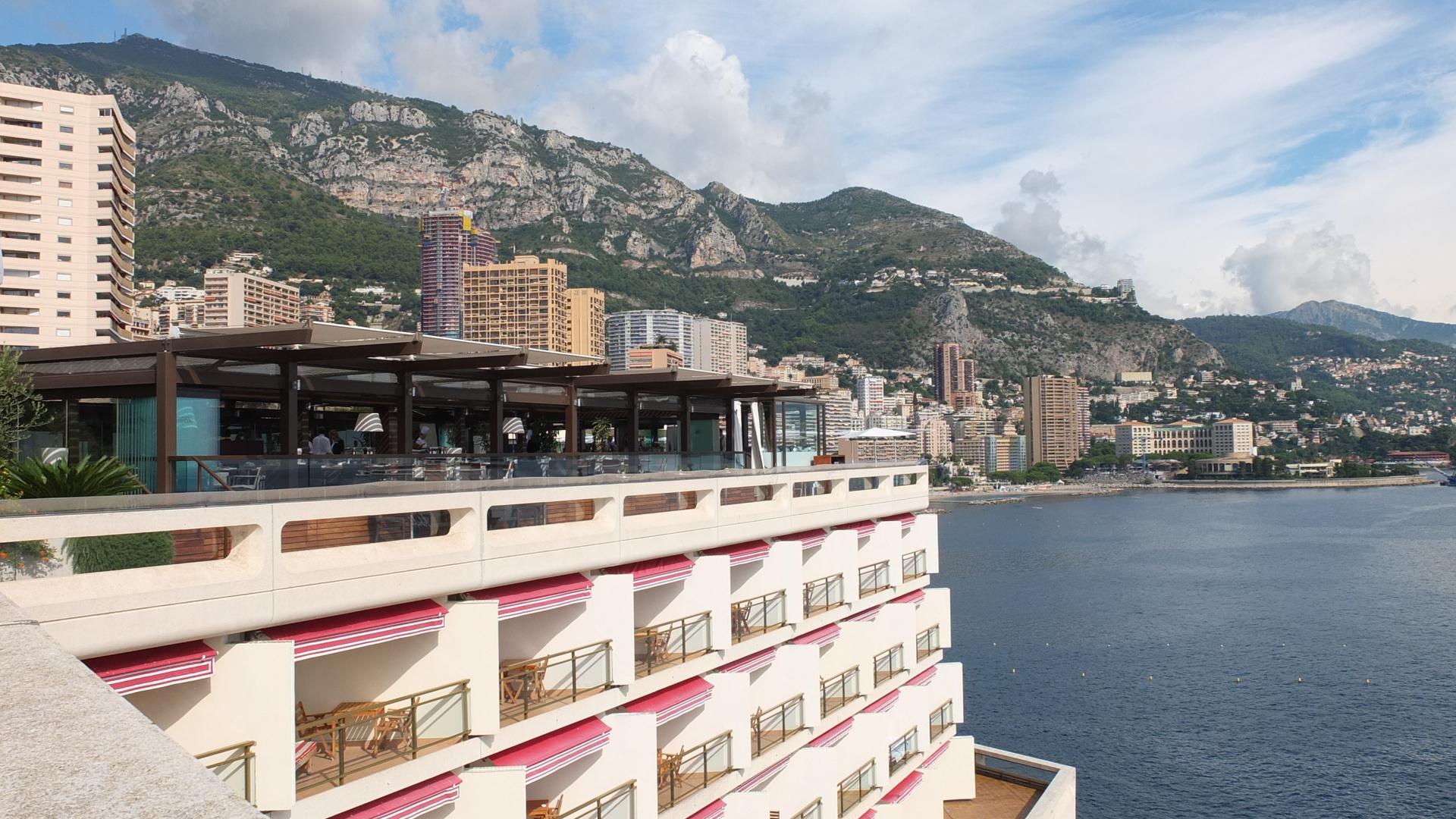 Monaco hinter Casino