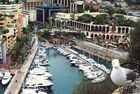 Monaco mit Möwe