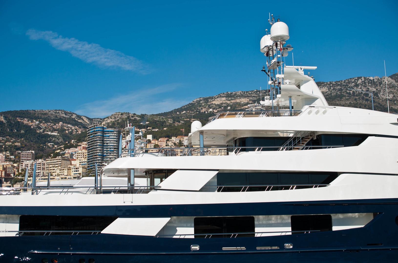 Monaco - Weiss und Blau