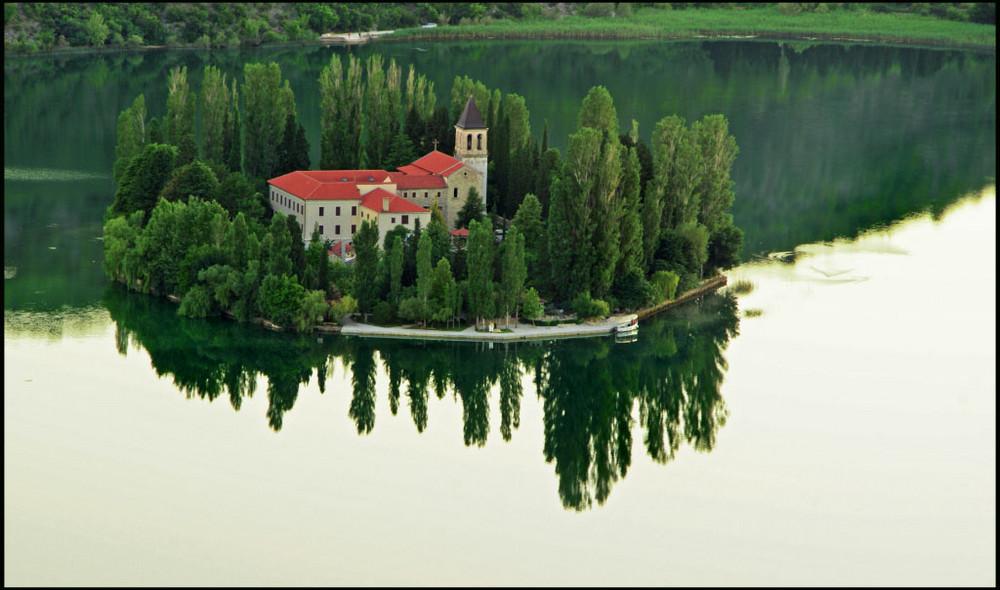 Monastere de Visovac-Croatie