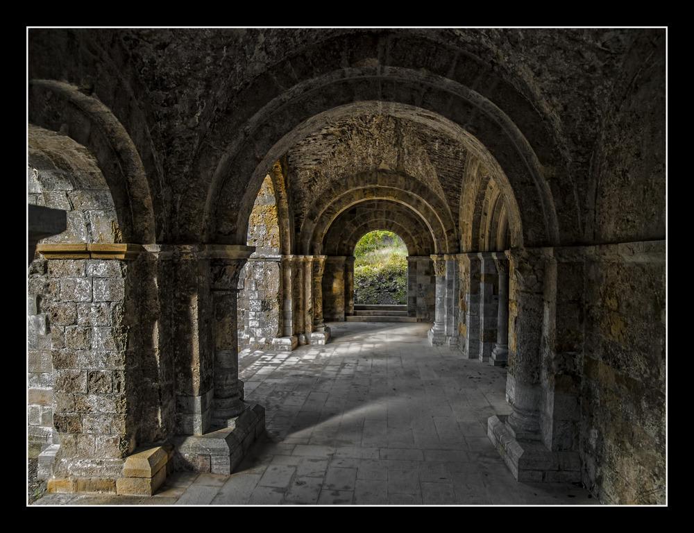Monasterio de Santa Maria en Gerri de la Sal (Pallars Sobira Lleida Catalunya)