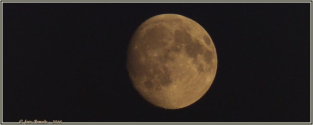 Mond - 94 % Sichtbarkeit  ..