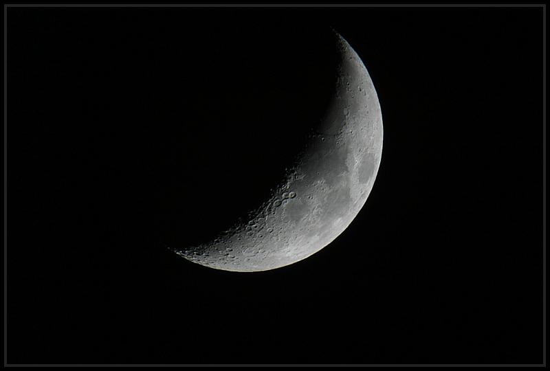 Mond am 07.04.2003