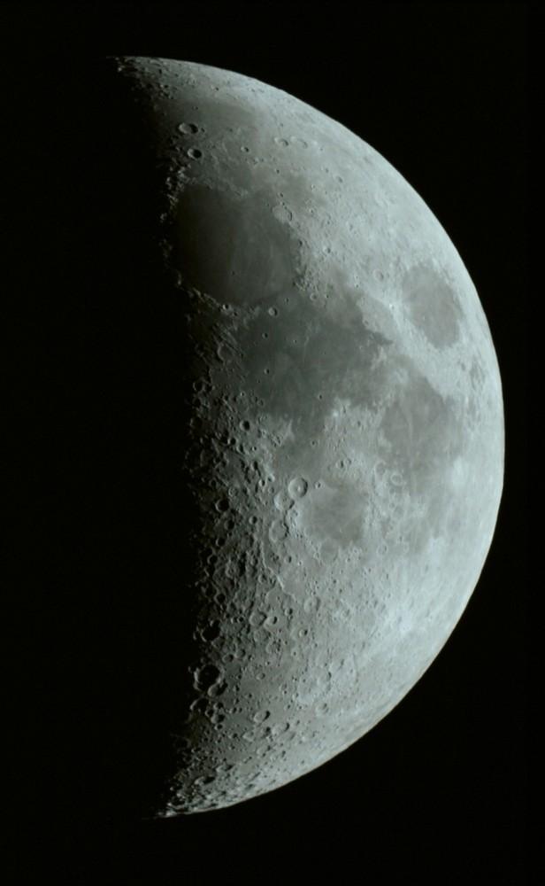 Mond am 1. April 2009