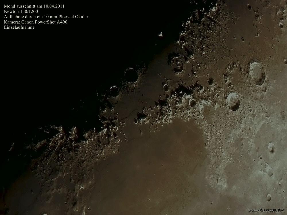 Mond am 10.04.2011