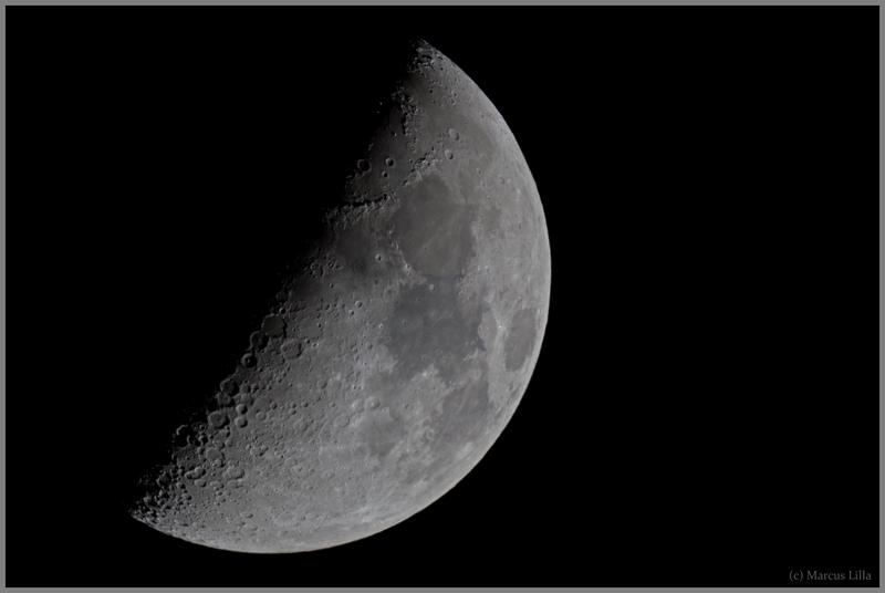 Mond am 12.03.2011