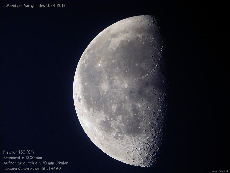 Mond am 15.01.2012