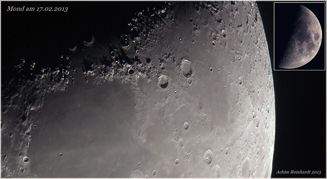 Mond am 17.02.2013