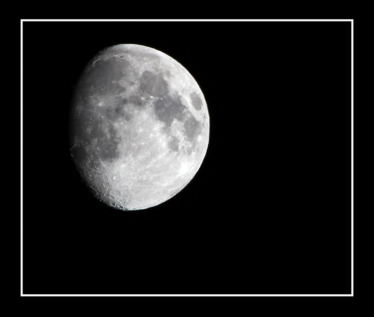 Mond am 17.11.2010