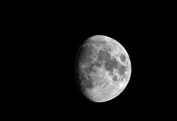 Mond am 1.August 2009