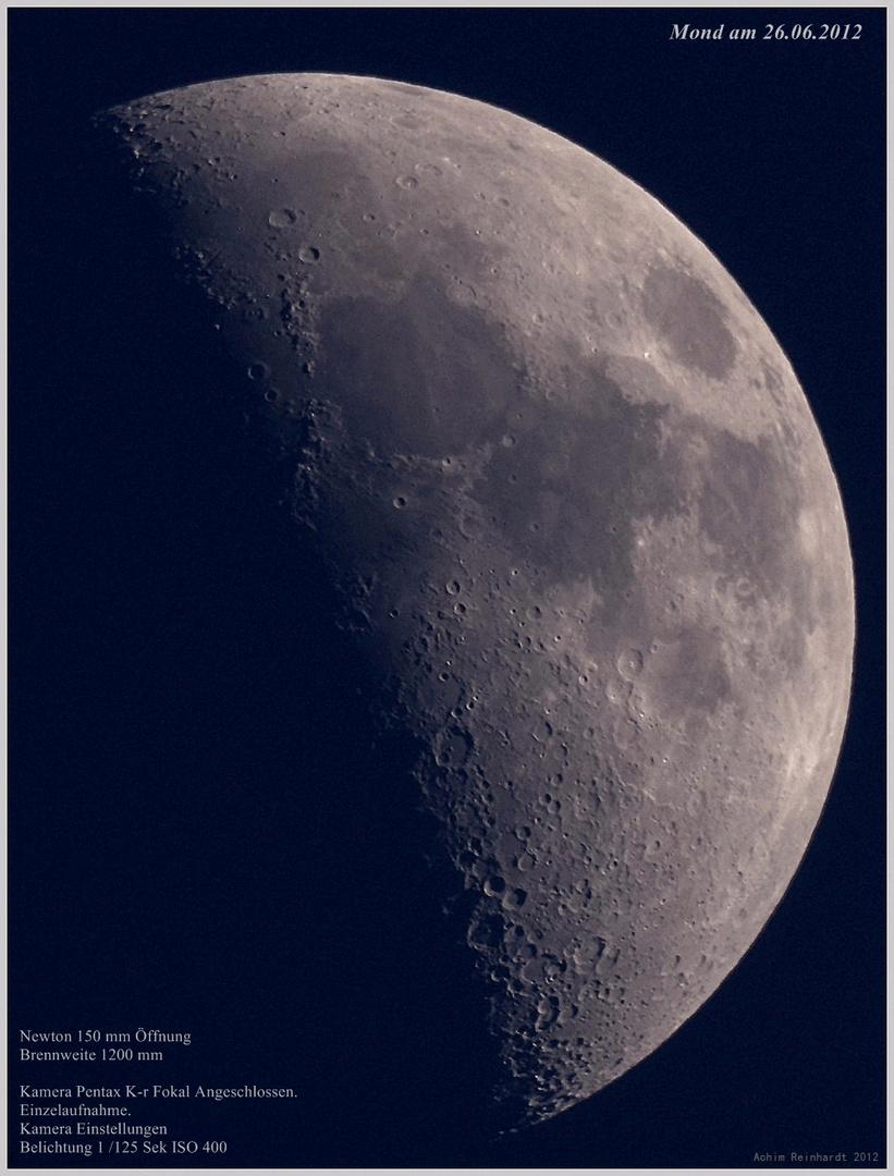 Mond am 26.06.2012