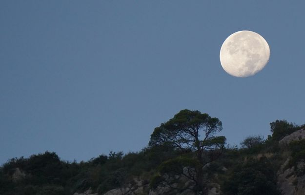 Mond auf Capri