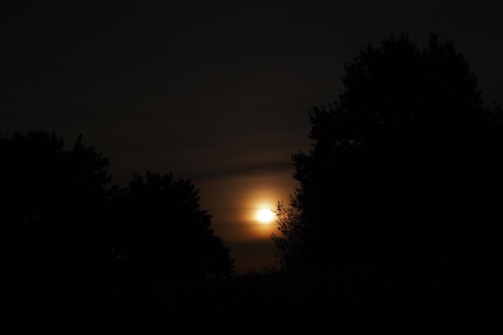 Mond aufgang