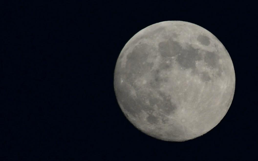 Mond aus der Sicht vonTunesien
