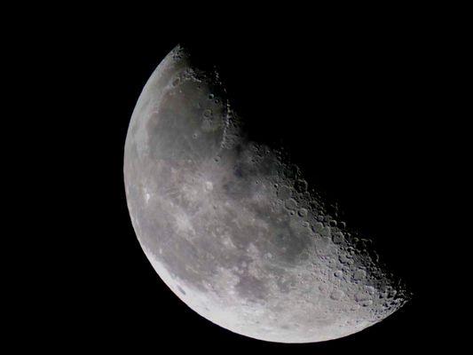Mond bei 3000 mm Brennweite