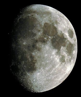 Mond ca. 4.25 Milliarden Jahre und 11 Tage nach Neumond