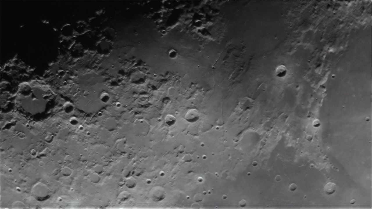 Mond Details am 19.03.2013