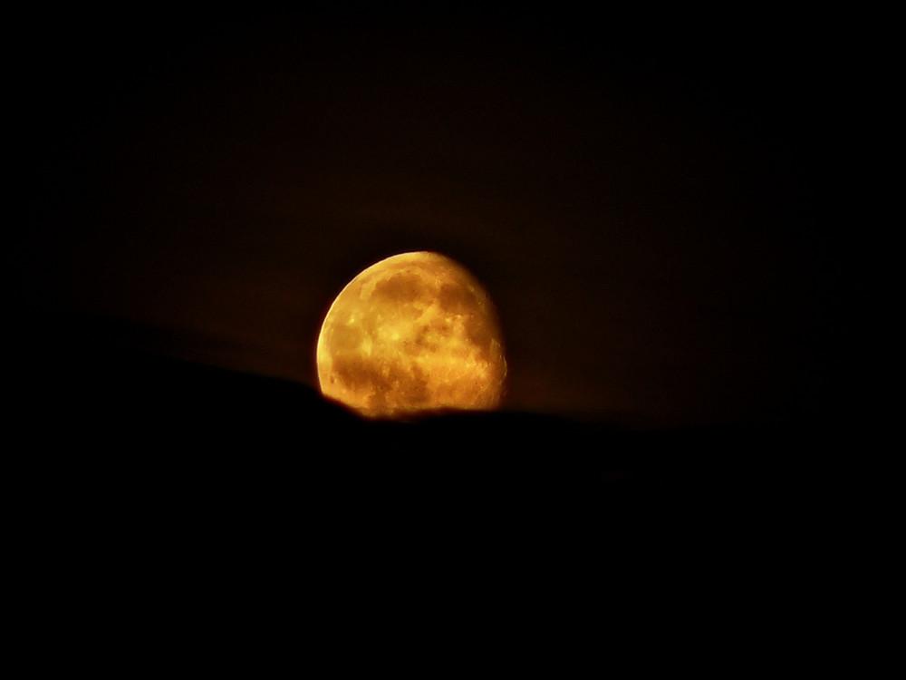 Mond im August