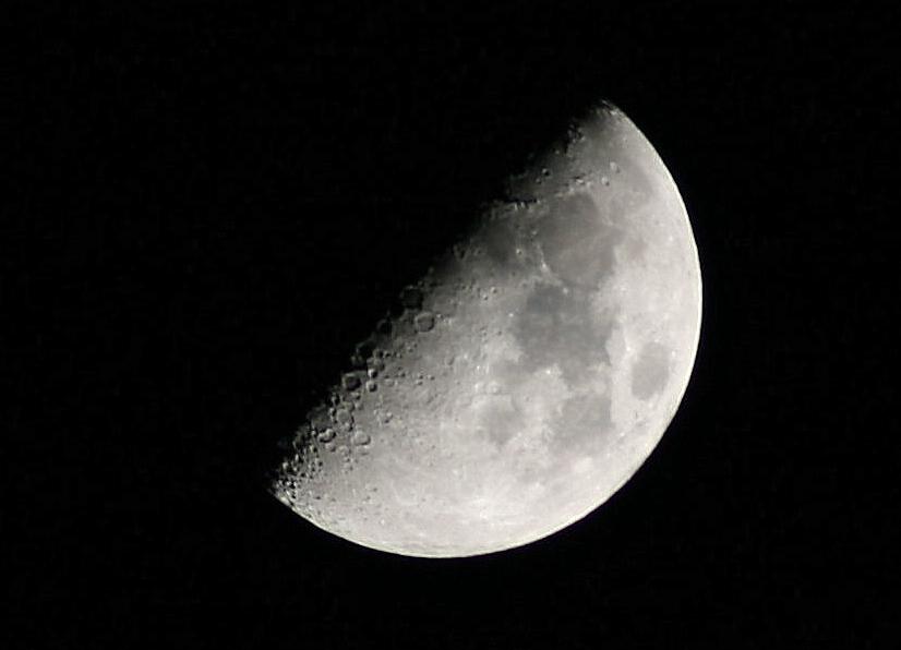 Mond im März