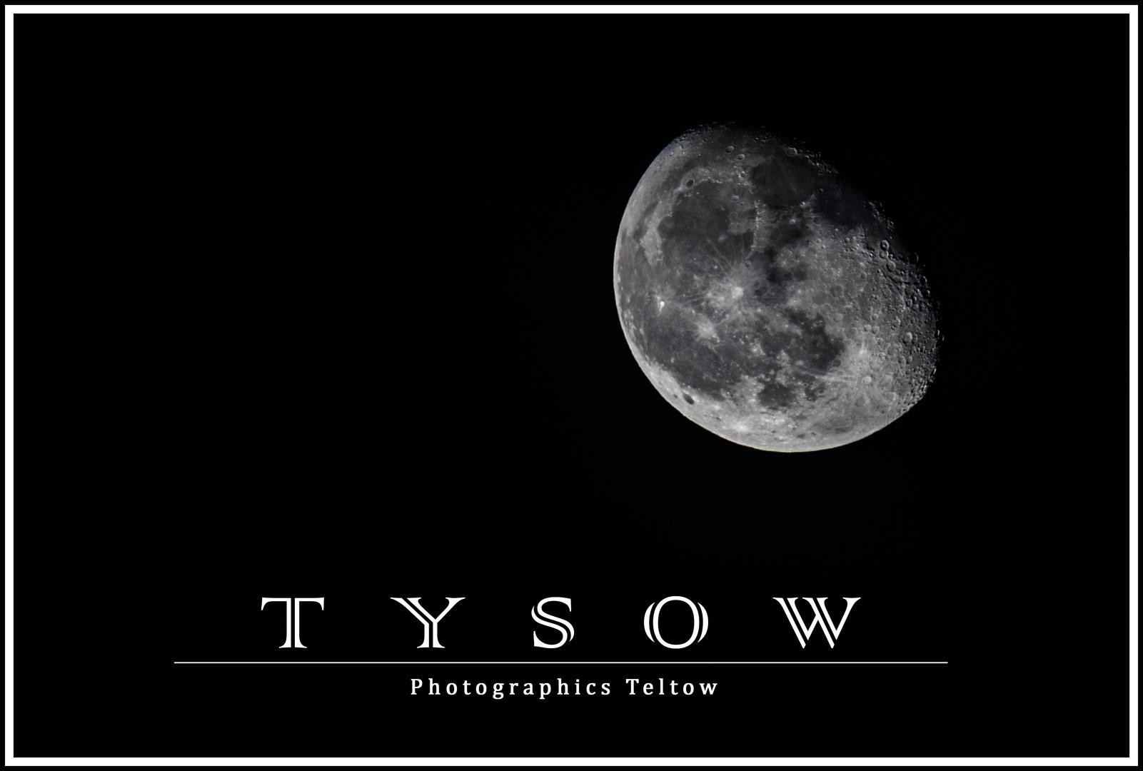 Mond im Winter