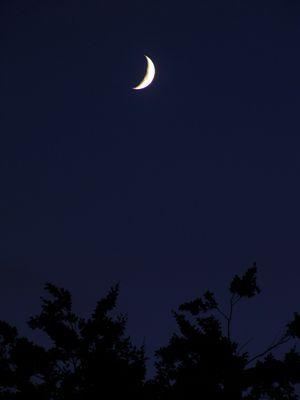 Mond in Aachen