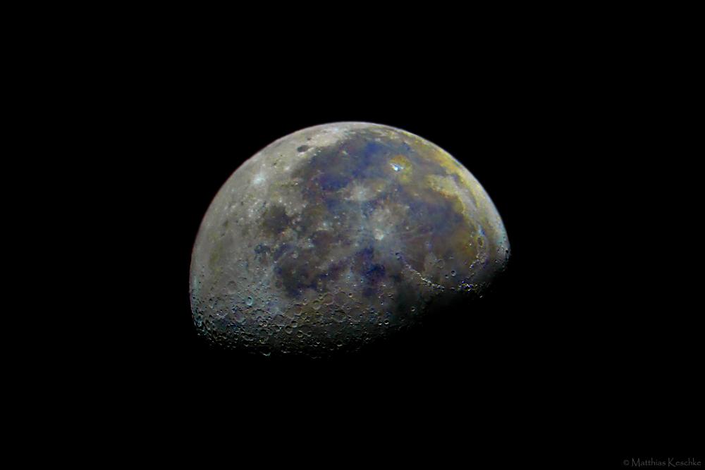 Mond in Echtfarben (Reload)