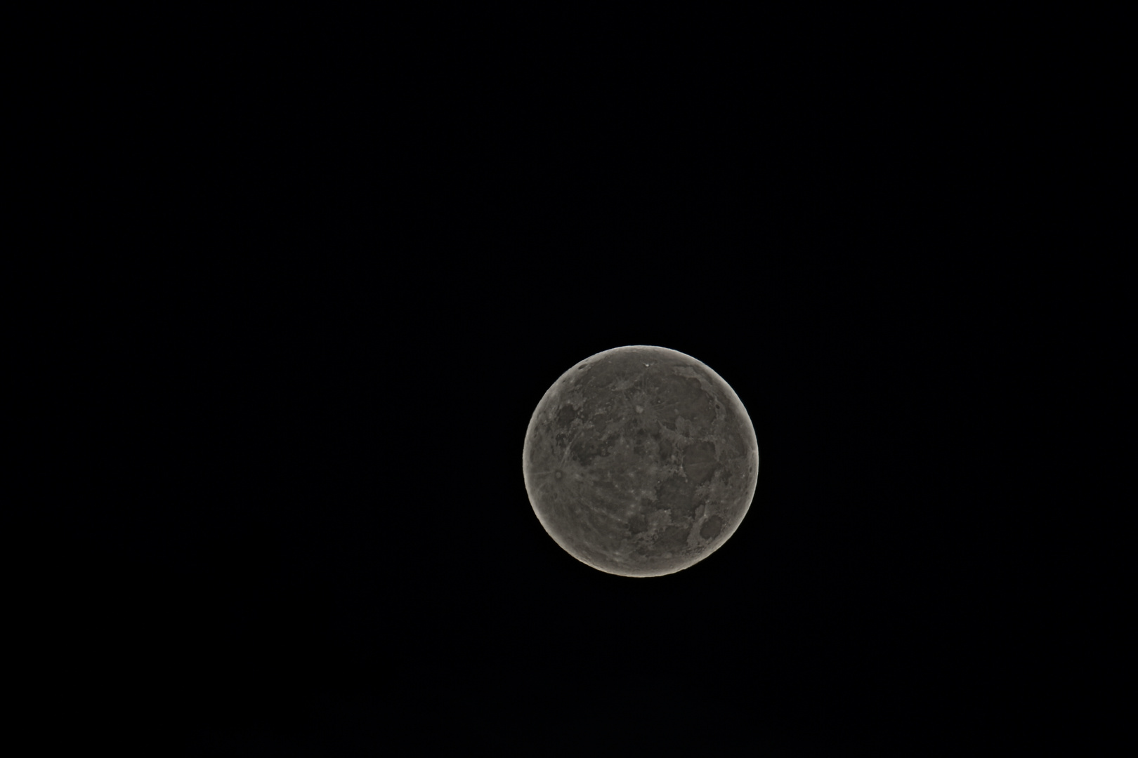 Mond in HDR