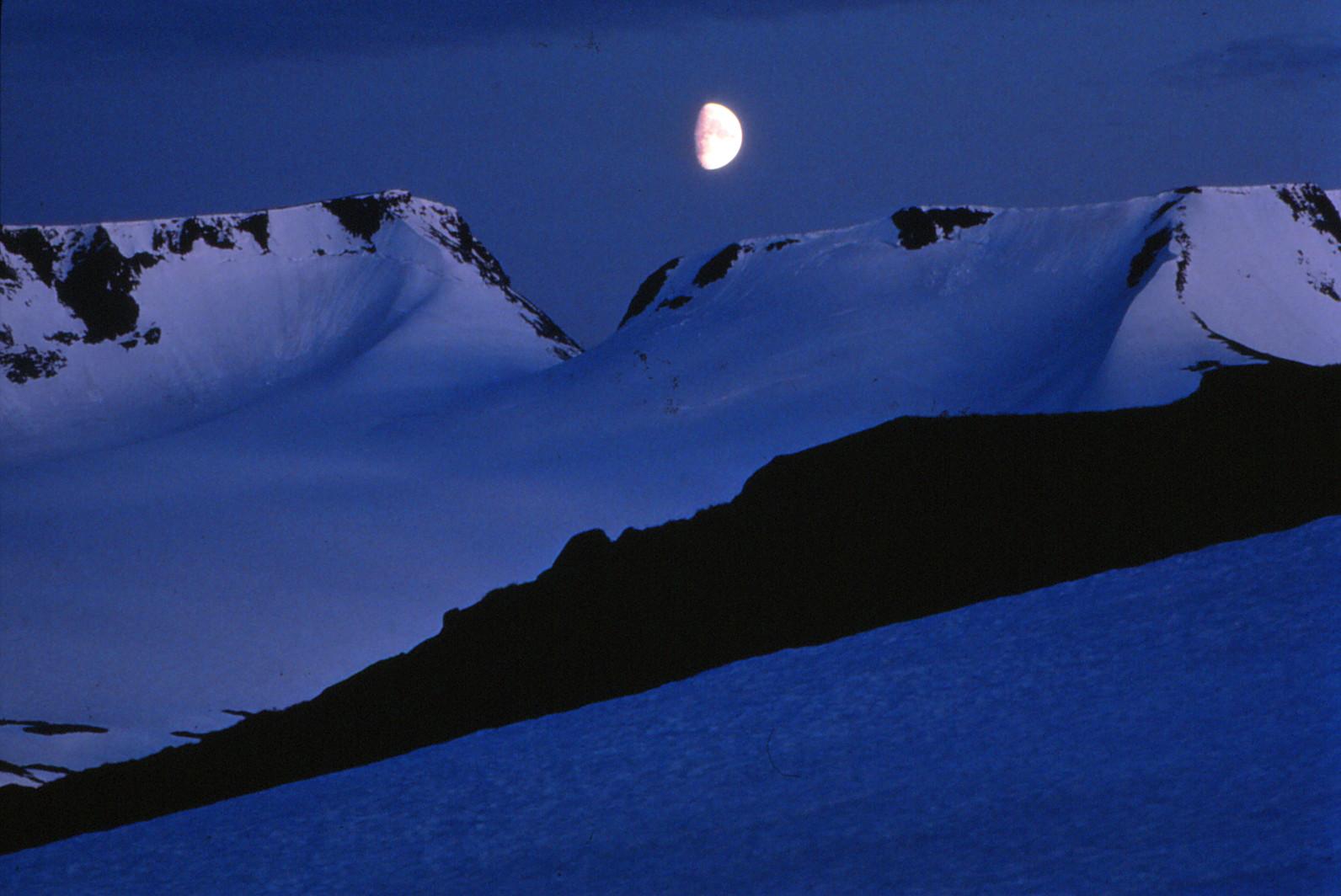 Mond in Norwegen