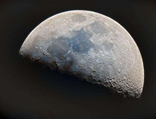 Mond mit DSLR