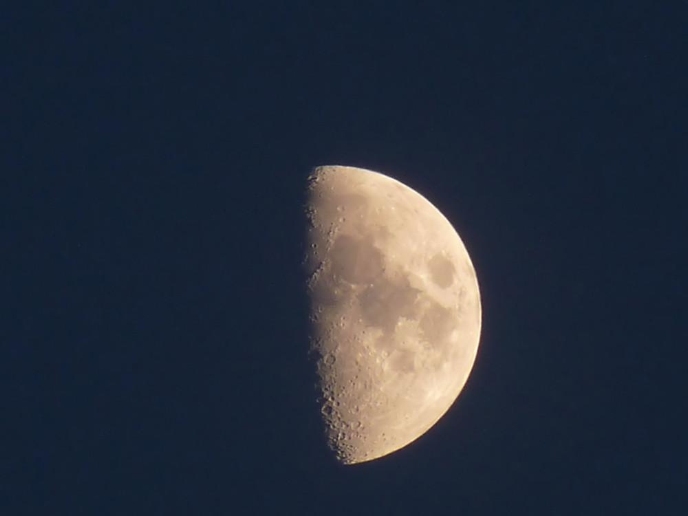 Mond mit Lumix FZ 28