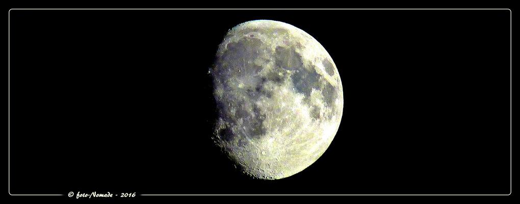 Mond  - Sichtbarkeit 88 %  ..