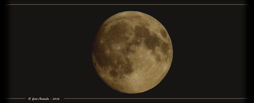 Mond - Sichtbarkeit 98 %  ..