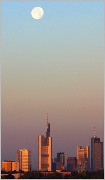 Mond & Sonnenaufgang