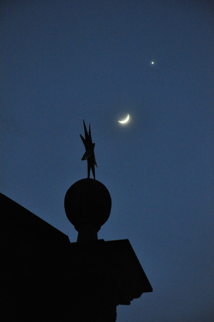 Mond & Sterne