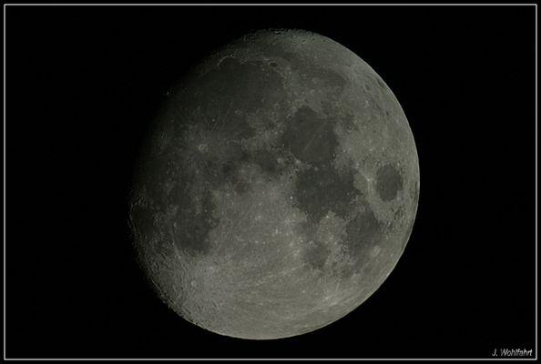Mond über Bonn