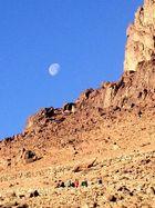 Mond ueber den Sinai von Nello
