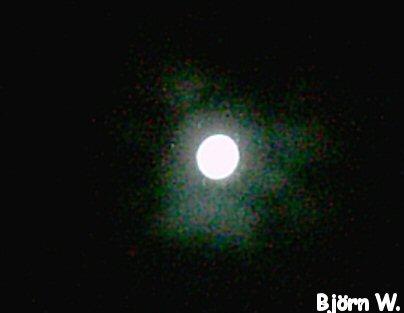 Mond über Dortmund