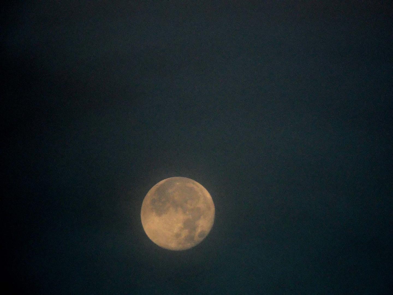 Mond über Glauchau