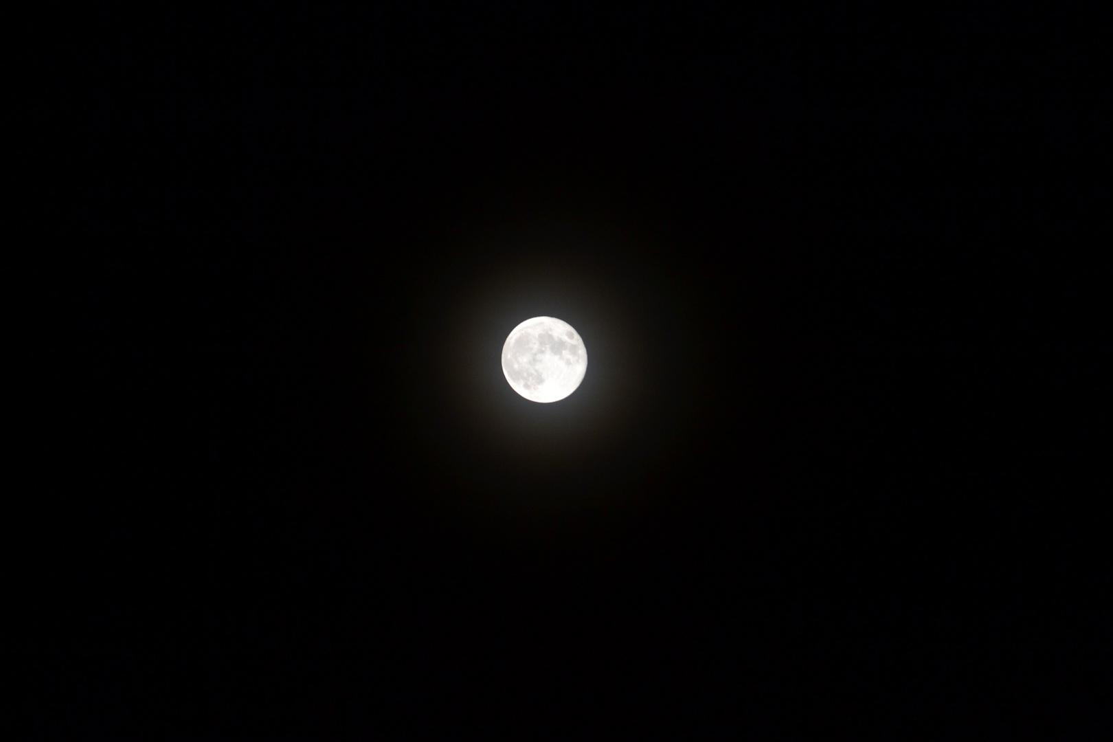 Mond über Graz