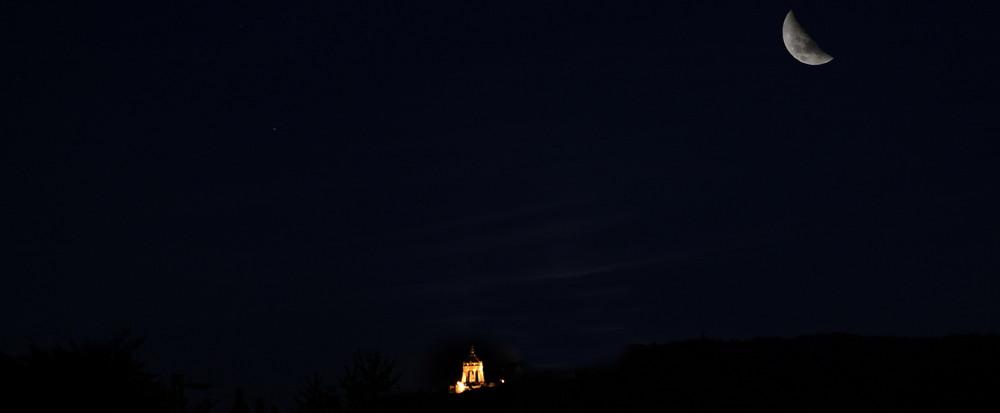Mond über Kaiserwilhelm!!!