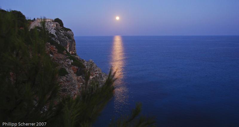 Mond über Mallorca