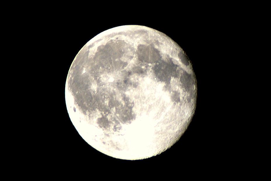Mond über Singen 05.09.09